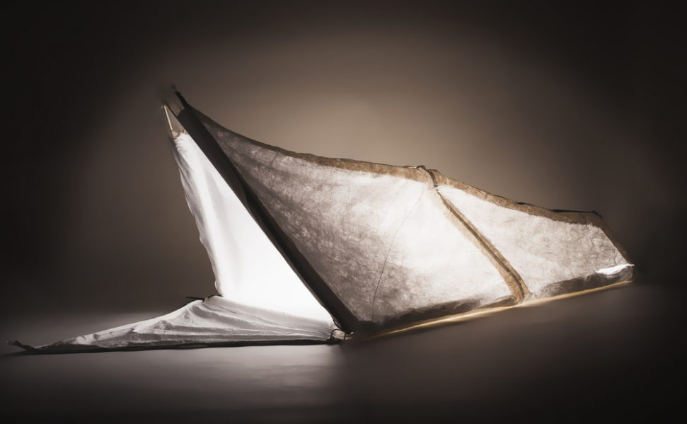 Sleeping Bag Coat by Anne-Sophie and Gabriella Geagea, Royal College of Art (United Kingdom) Photo credit: Dubai Design Week