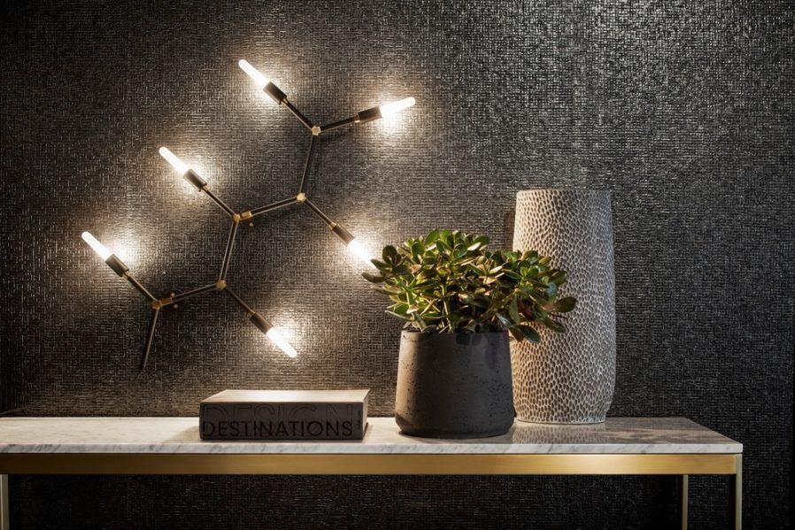 Suzanne.6 Wall-mounted luminaire, $900 CDN. Photo credit: Adrien Williams