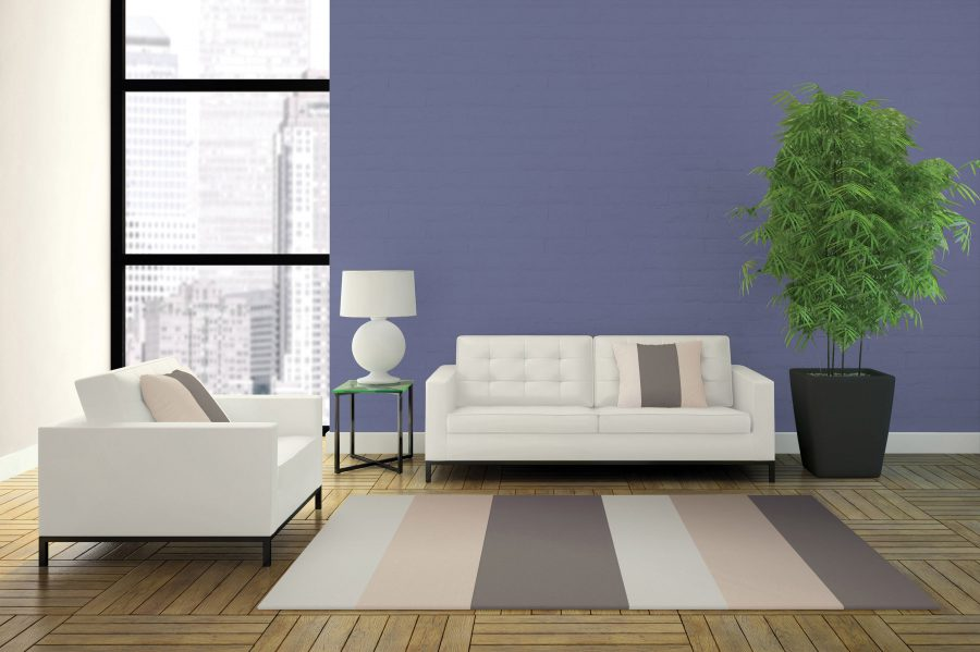 Cosmic-like purple such as Starry Sky Purple (70BB 21/147 A1518), the Dulux Paints Colour of the Year, will take off as the most popular colour of 2017, according to the paint brand. Due to its chameleon-like effect depending on its surroundings, it appears greyer when partnered with dark neutrals and bluish next to white.