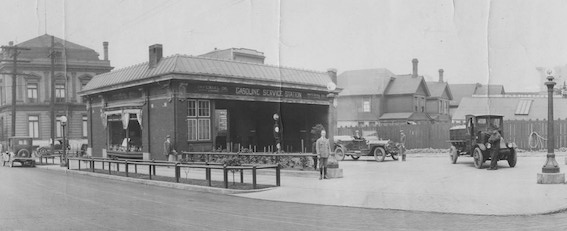 The first Burritt shop on Hornby. Photo courtesy of Burritt Bros.