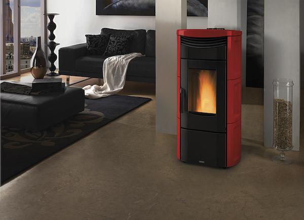 Vicenza Pellet Stove. Photo courtesy of Mike Kwiatkowski