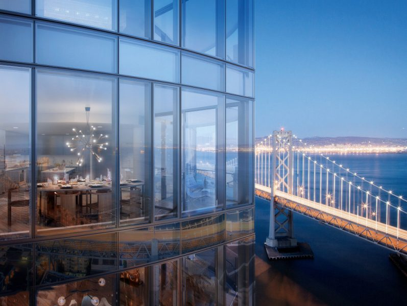 LUMINA Condominium Develoment - Bay Bridge. Photo credit: Steelblue