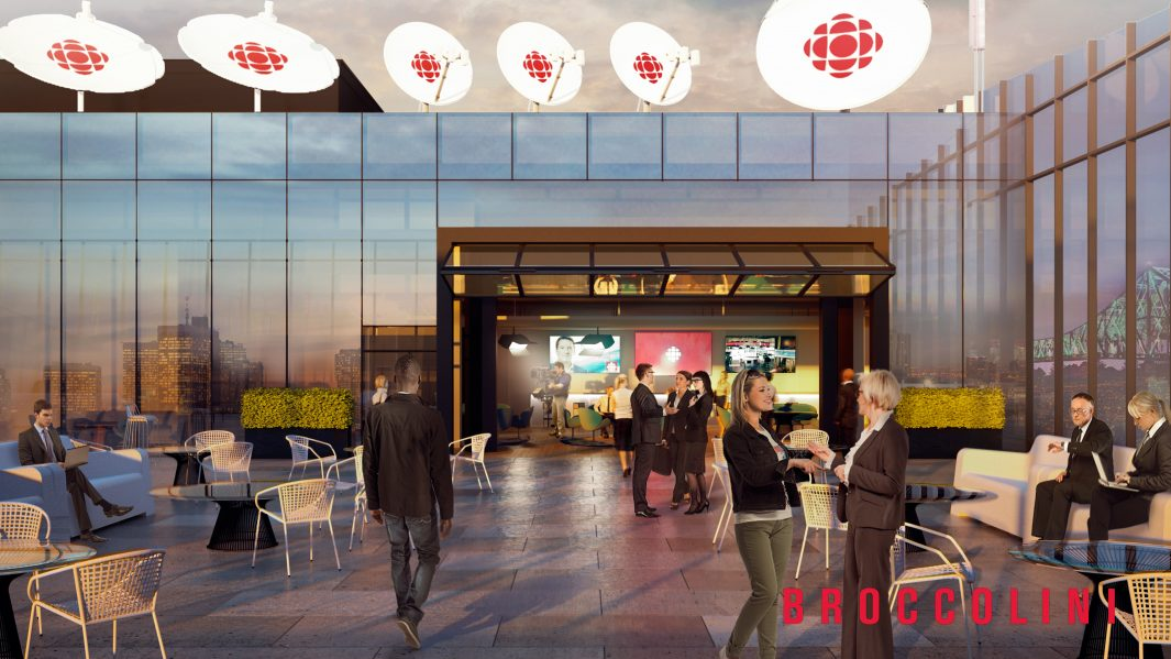 cbc approves proposal for new maison radio canada in montreal - Maison Canada