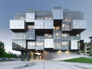 UBC Faculty of Pharmaceutical Science by Tripped On Light Design. Photo credit: Marc Cramer, Ema Peter