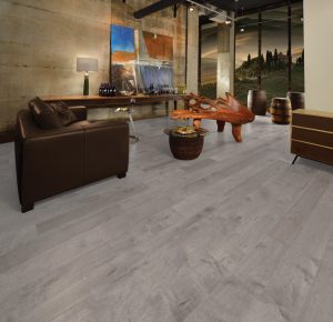 Maple Driftwood, Character, Imagine Collection. Photo credit: Mirage Hardwood Floors