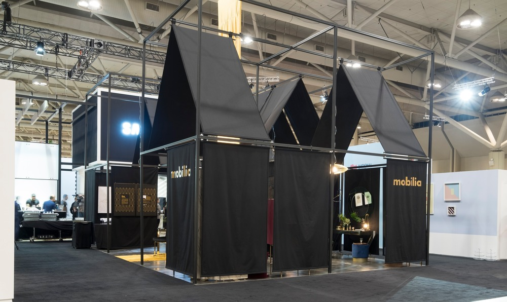 mobilia wins gold award for best booth design at 2017