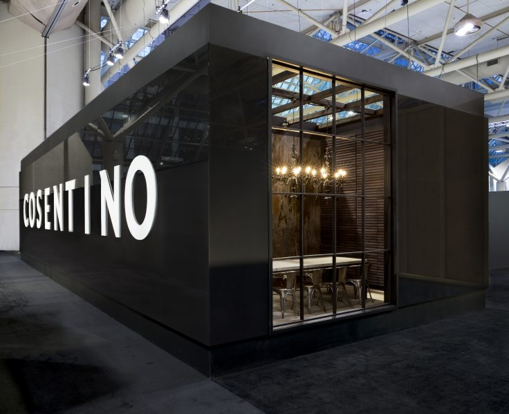 Exhibition Booth Design Award : Cosentino wins first place at interior design show