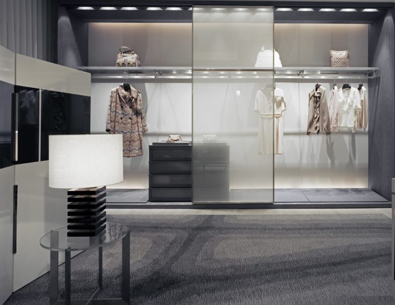 Holt Renfrew Personal Shopping Suites. Photo: Ben Rahn / A-Frame Studio