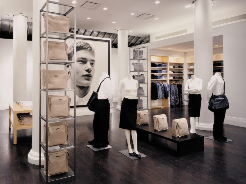 Club Monaco. Photo: Ben Rahn / A-Frame Studio