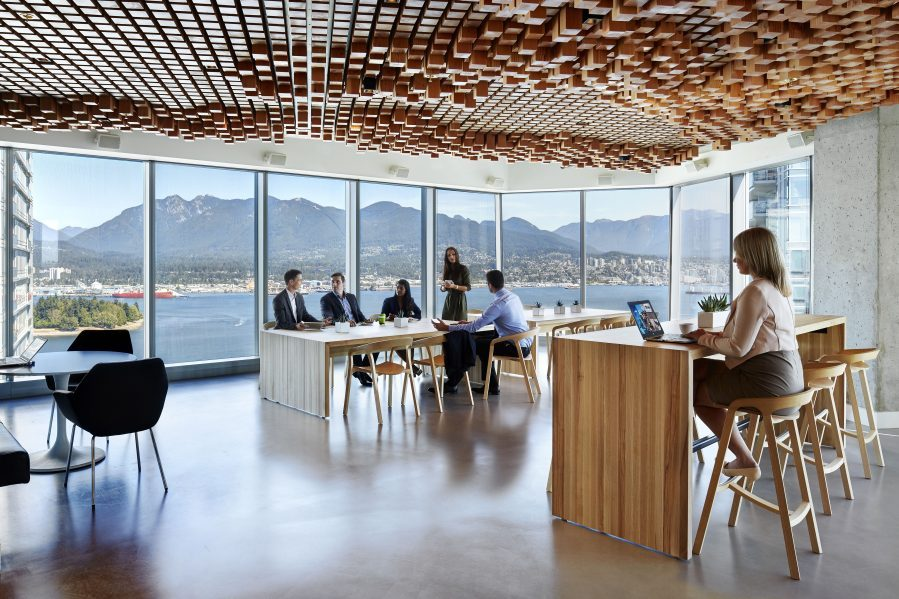 CBRE's Vancouver office. Photo courtesy of CBRE