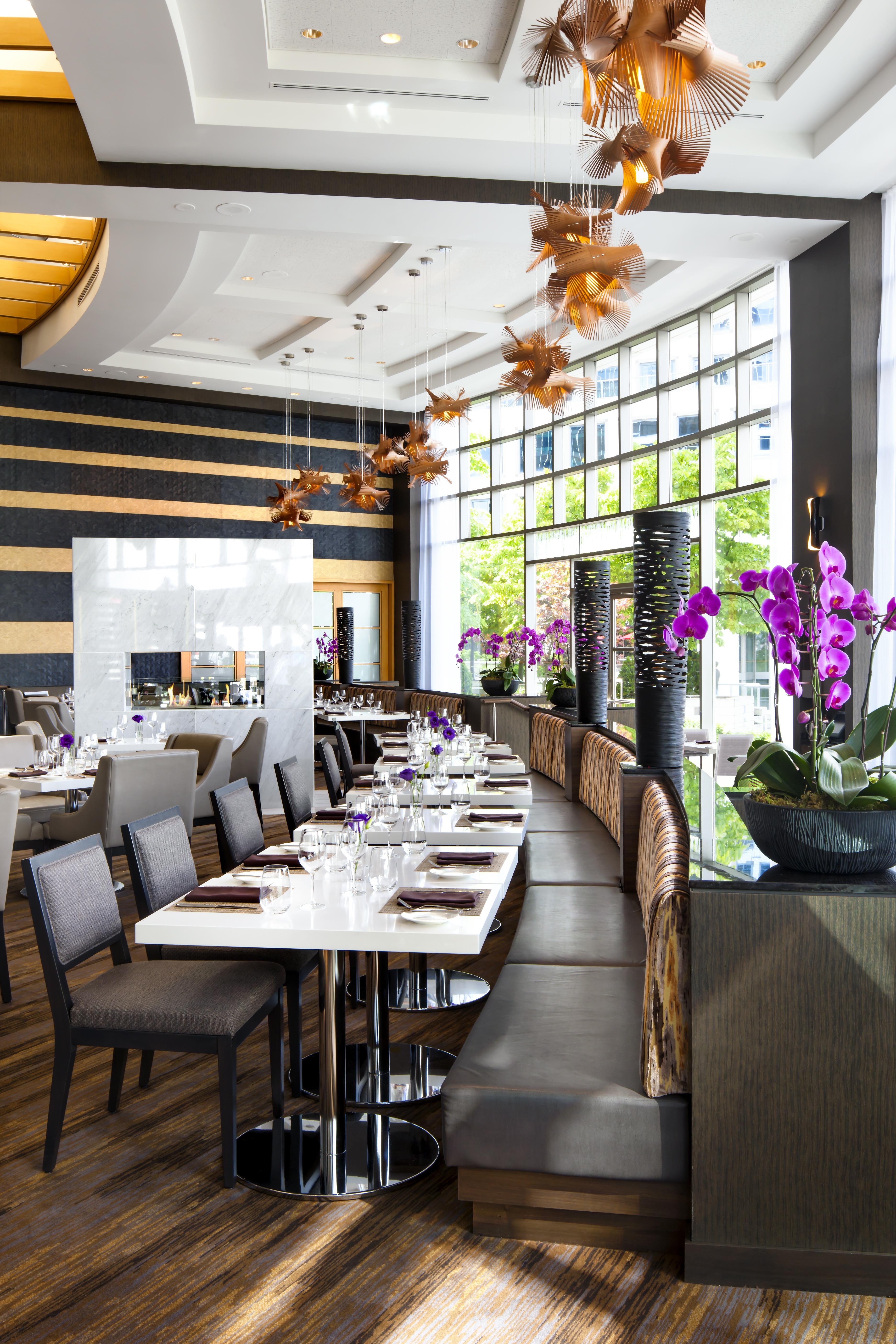 Arc Restaurant, Fairmont Vancouver, CHIL