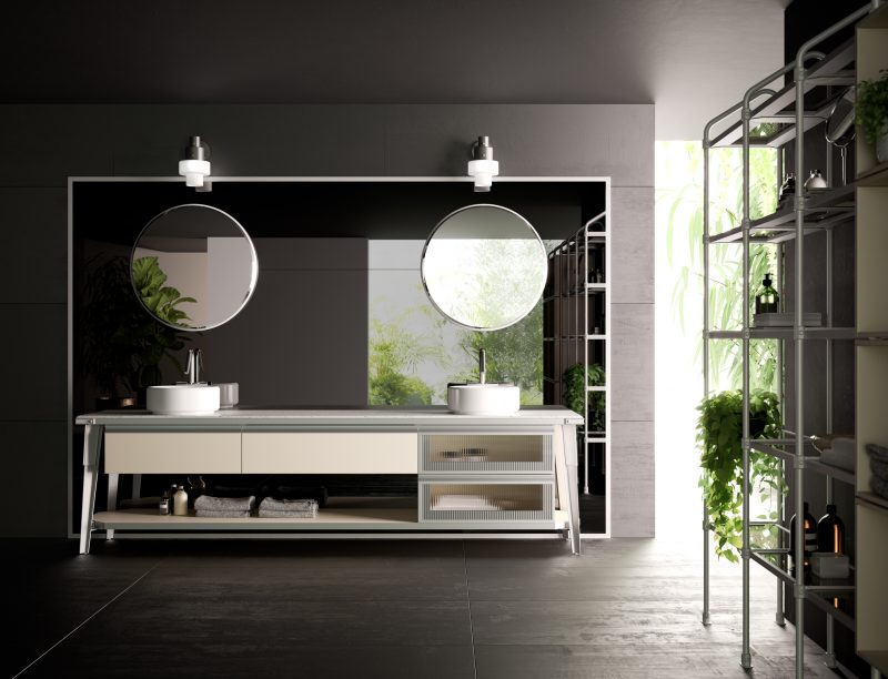 Diesel Open Workshop Bathroom, Scavolini