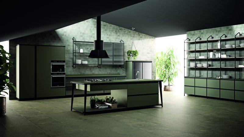 Diesel Open Workshop Kitchen, Scavolini