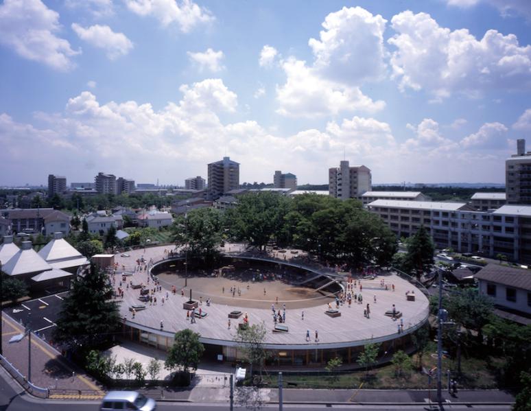 Fuji Kindergarten, Tokyo, Japan, by Tezuka Architects. Photo by Katsuhisa Kida.